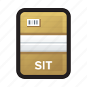 archive, compress, compressed, file, rar, sit, zip icon
