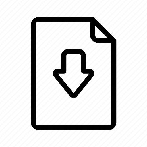 and, document, file icon