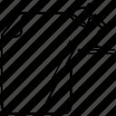 bookmark, curve, document, favorite, file, vector art