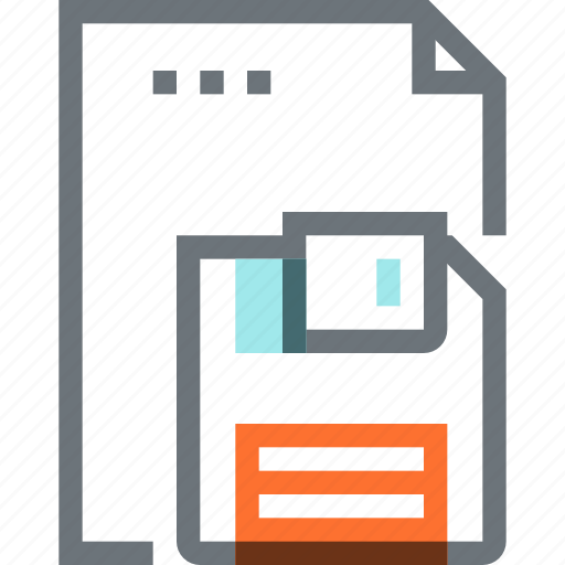 data, document, file, floppy, guardar, paper, save, sheet icon