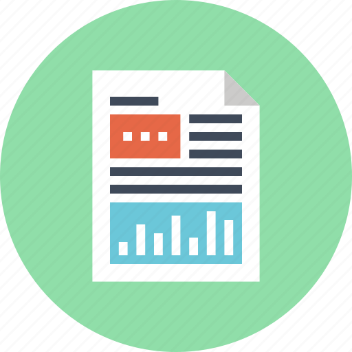 Analytics, chart, document, file, graph, report, statistics icon - Download on Iconfinder