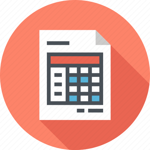Account, data, document, file, invoice, receipt, report icon - Download on Iconfinder