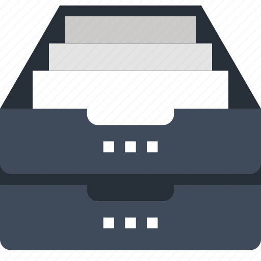 Archive, box, data, document, file, office, storage icon - Download on Iconfinder