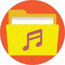 mp3 files, mp4 files, music files, music folder, sounds folder icon