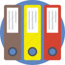 file folders, keeping documents, keeping files, record folder, record keeping icon