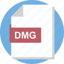 dmg, dmg document, dmg file, image file, mountable disk image file icon