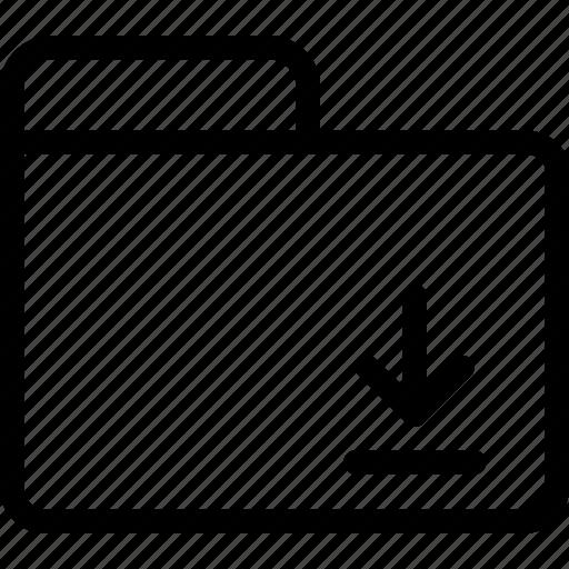 downloads, files, folders icon