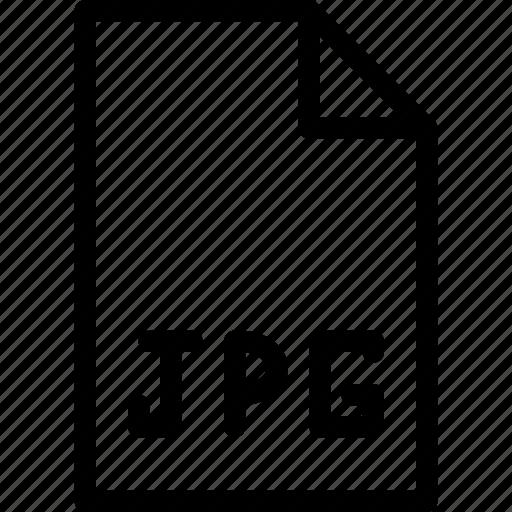 files, folders, format, image, jpg icon