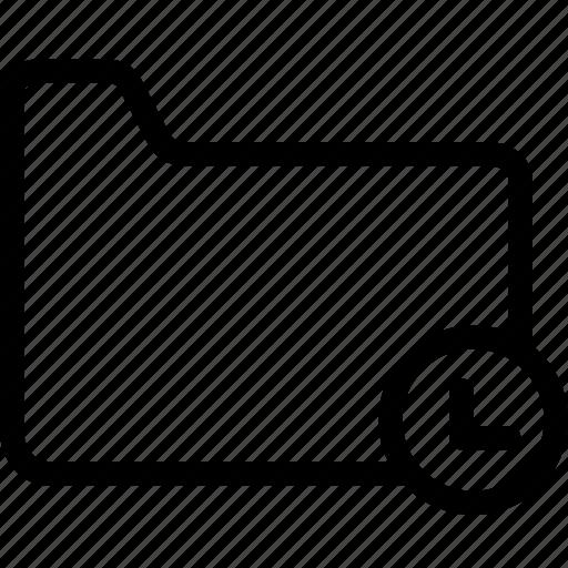 files, folders, in, loadiing, process, sync icon
