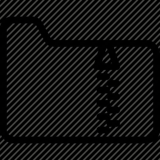 files, folders, rar, zip icon