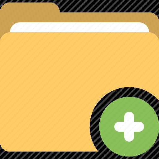 add file, add folder, folder, plus icon