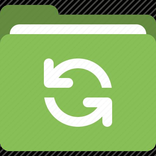folder, refresh, sync folder, update folder icon