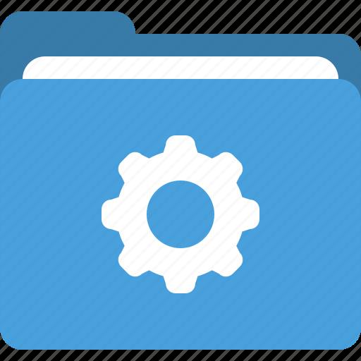 folder, folder properties, folder property, settings icon