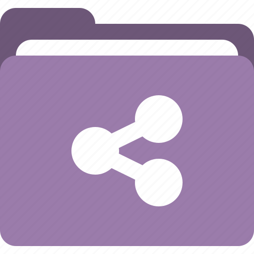folder, network folder, share, share folder icon
