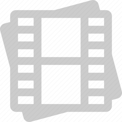 film gallery, library, media, video icon