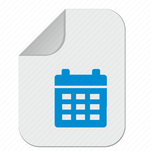 calendar, date, doc, document, file, office, paper icon