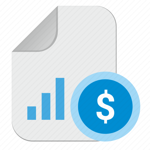 article, chart, document, file, money, review, usd icon