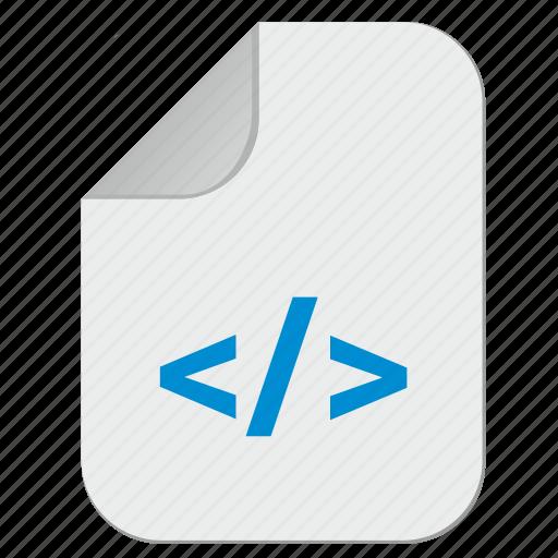 code, document, file, html, hypertext, program icon