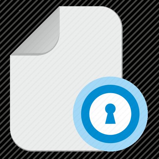 document, door, file, password, pin, slot icon