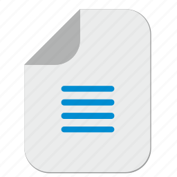 article, doc, document, file, paper, text icon