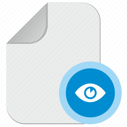 doc, document, file, preview, view icon