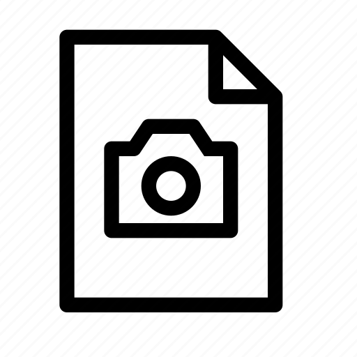camera, document, file, image, jpeg, photo, picture icon