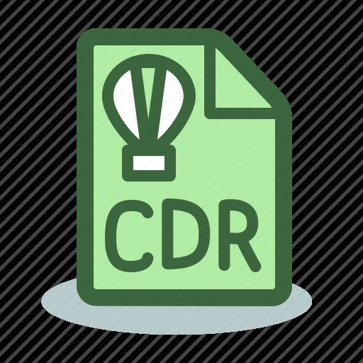 cdr, corel, corel draw, draw, file icon