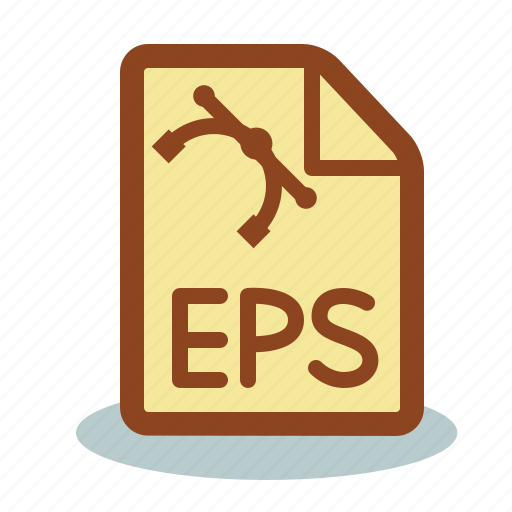 eps, file, format, shape, vector format icon