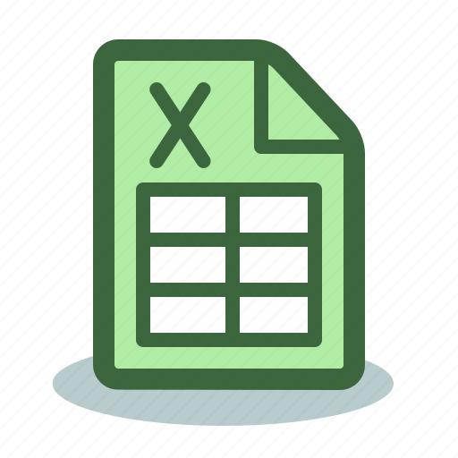 document, excel, file, format, spreadsheet, xls icon