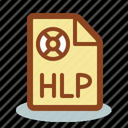 faq, file, help, hlp icon