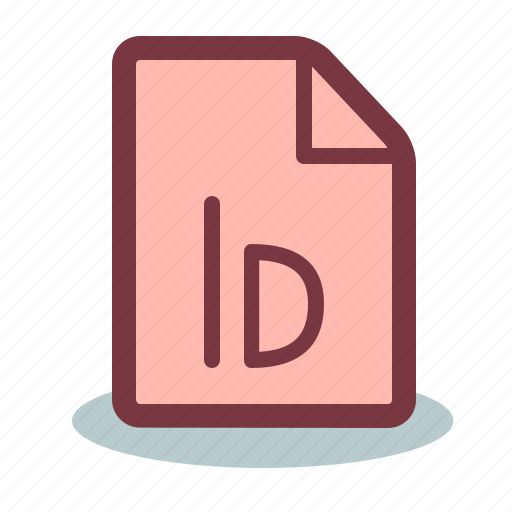 file, indesign icon