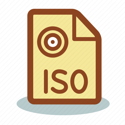 file, iso icon