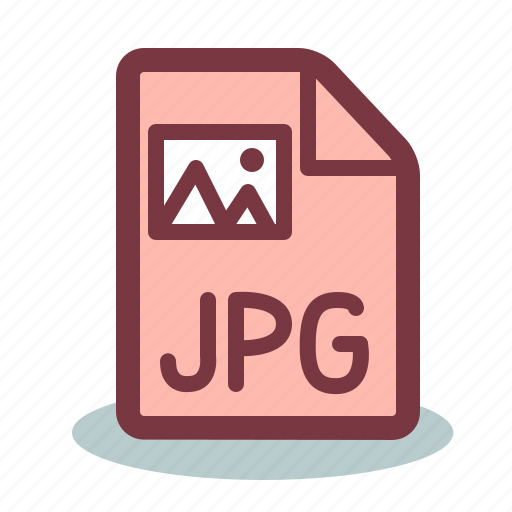 file, format, image, jpg, pic icon
