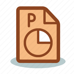 format, point, power, powerpoint, presentation icon