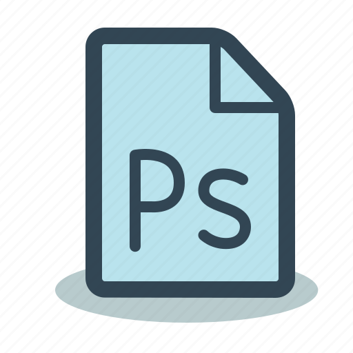 file, format, photoshop, ps, psd icon
