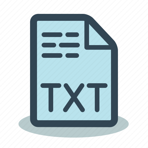 File, format, text, txt icon - Download on Iconfinder
