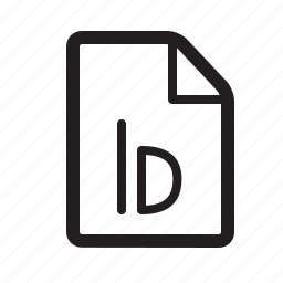 file, id, indesign icon