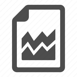 business, chart, document, file, graph, page, report icon