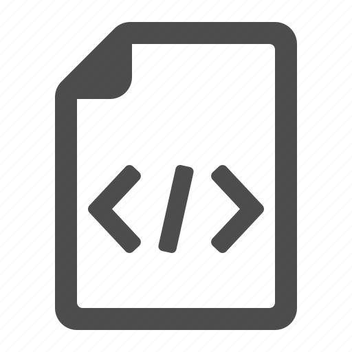 code, coding, document, file, html, page, programming icon