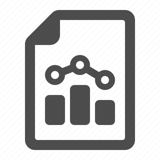 business, document, file, graph, page, stats icon