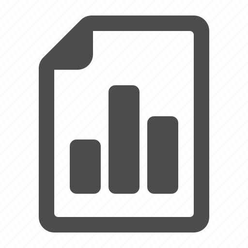 business, document, file, graph, page icon