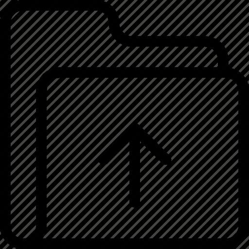 archive, data, folder, upload icon icon