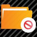 block, directory, file, folder