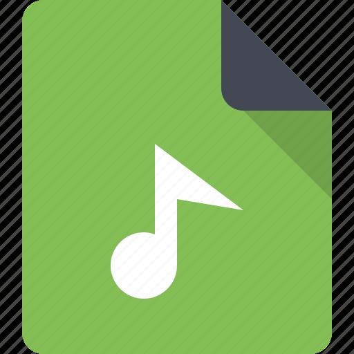 audio, audio file, document, file, music, music file, sound icon