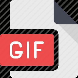 animate, animated, animation, document, file, gif icon