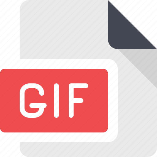 animate, animated, animation, document, file, gif icon