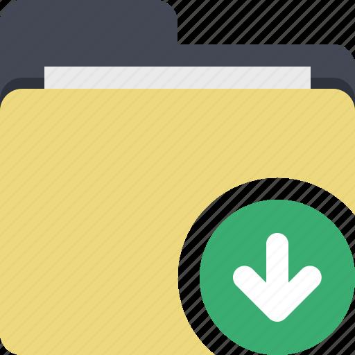 categorized, category, documents, download, download folder, folder icon