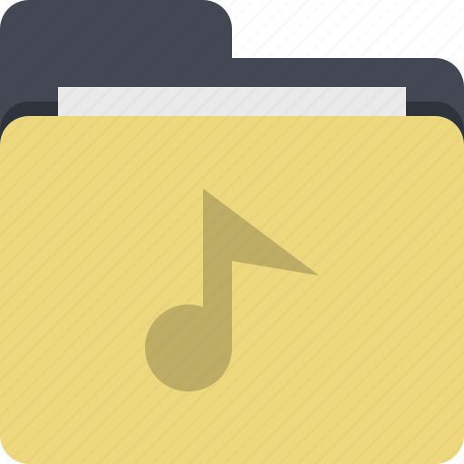 audio, audio file, category, documents, folder, music, sound icon