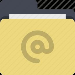 address book, categorized, category, documents, email, folder icon