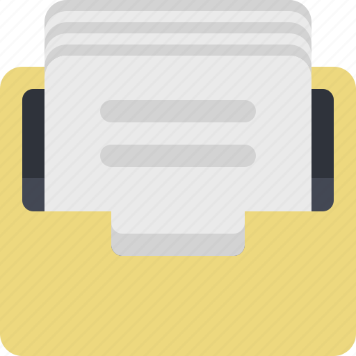 archive, archiver, category, documents, files, inbox, papers icon